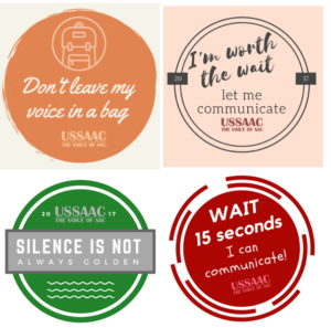 Graphics with USSAAC Catch Phrases