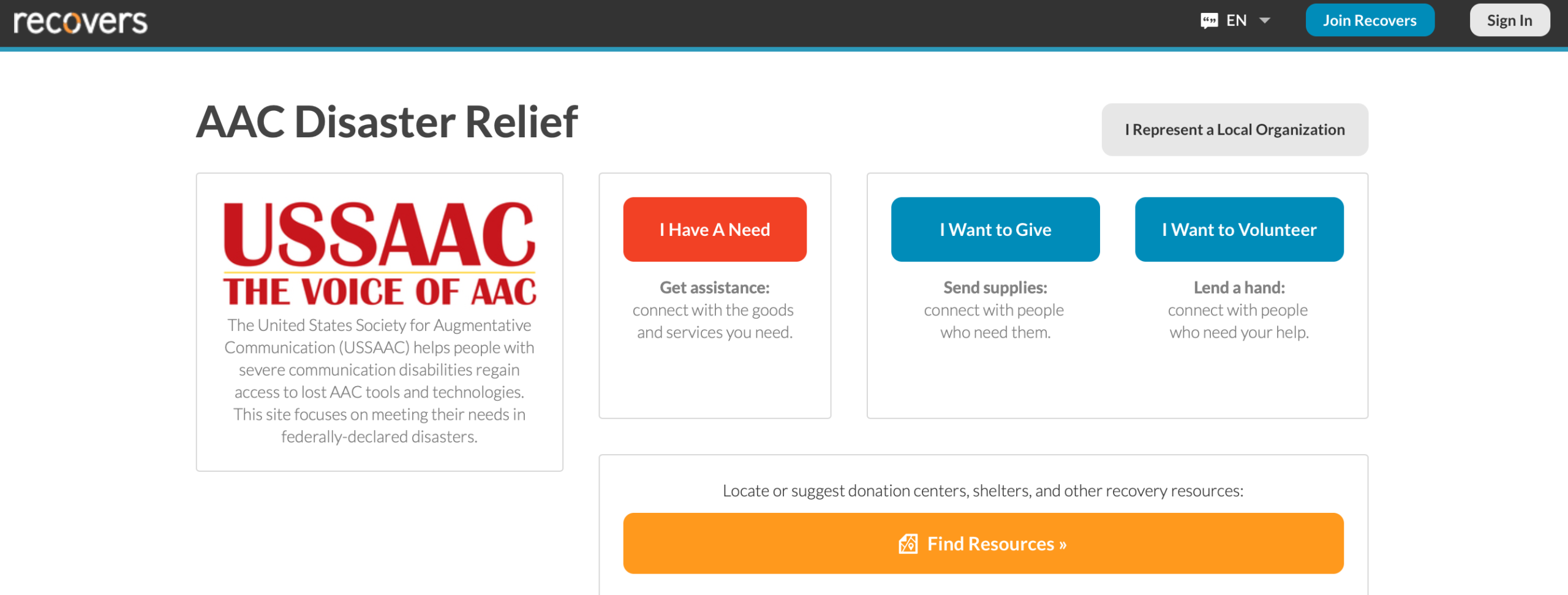 AAC Disaster Relief1